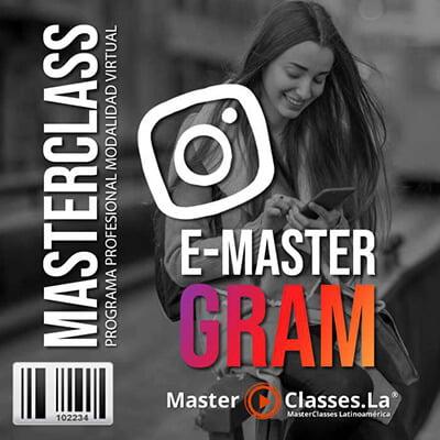 programa e masterGram  by Reverso Academy master classes cursos online