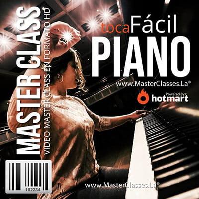 programa toca fácil el piano by reverso academy cursos master classes online