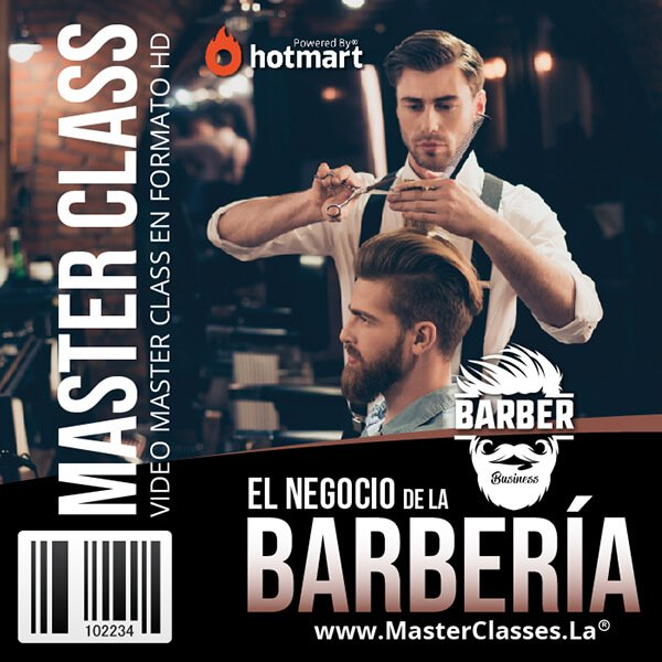 El negocio de la barbería by reverso academy cursos online clases