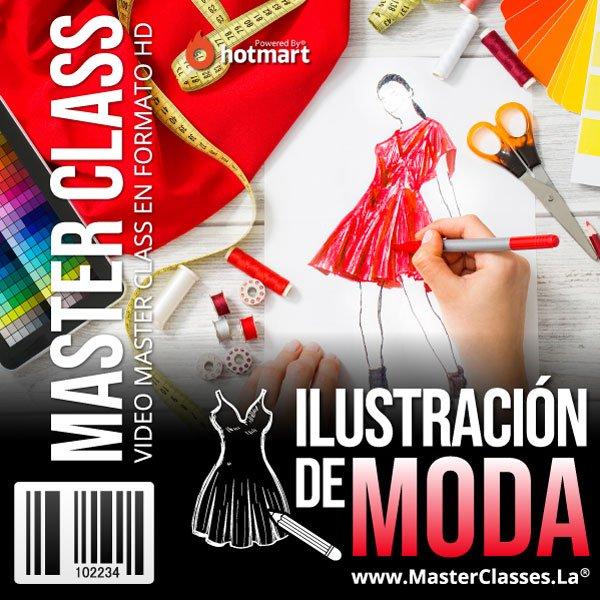 Ilustración de Moda by reverso academy cursos clases online