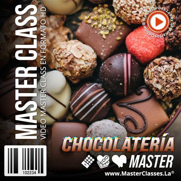 Chocolatería Master ChocoArt by reverso academy cursos online clases
