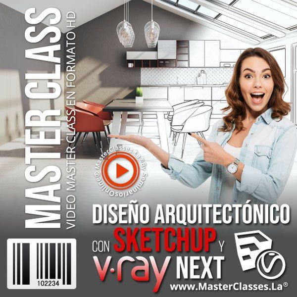 Diseño arquitectonico con sketchup y v ray next by reverso academy cursos clases